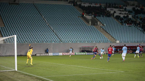 Scandal la Moscova. Deşi meciul cu City trebuia să se dispute fără spectatori, ŢSKA a fost susţinută de 650 de fani