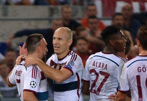 Glume peste glume. Ribery marchează după ce este luat la mişto