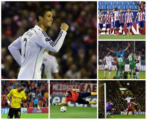 Real învinge la scor de neprezentare pe Anfield. Echipa lui Moţi, egala lui Liverpool şi Basel. Vezi toate rezultatele celei de-a treia etape din grupele Ligii Campionilor
