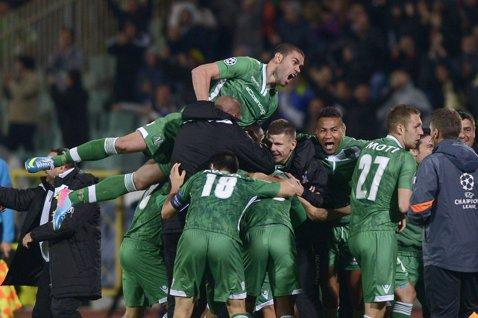 Se trezesc târziu. Cu Moţi integralist, Ludogoreţ a scris istorie pentru Bulgaria în Liga Campionilor, câştigând cu Basel în minutul 92
