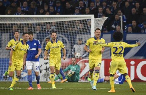 Terry a înscris cel mai rapid gol al lui Chelsea în istoria participărilor în Liga Campionilor