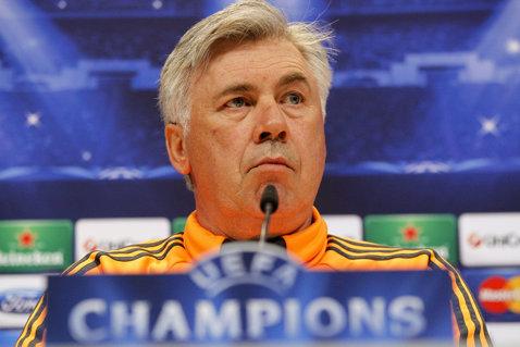 """Ancelotti revine în Italia unde speră să obţină o nouă calificare în finala Ligii: """"Juventus a câştigat titlul în Italia, este încrezătoare"""""""