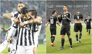 Semifinalele Champions League | Juventus - Real Madrid 2-1. Tevez, decisiv la ambele goluri ale torinezilor. Calificarea se joacă în returul de pe Bernabeu