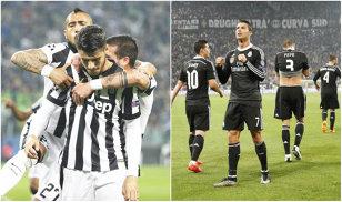 Semifinalele Champions League   Juventus - Real Madrid 2-1. Tevez, decisiv la ambele goluri ale torinezilor. Calificarea se joacă în returul de pe Bernabeu
