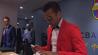 Râsul e obligatoriu! FOTO   Excepţional ce a purtat în jos Dani Alves la sosirea pe Camp Nou, înainte de meciul cu Bayern