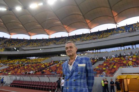 """Ce meci a văzut Gigi Becali? """"Suntem 80% calificaţi, dacă mai jucăm 2000 de ani nu ne mai dă gol Partizan"""". Cojocaru, făcut praf de patron"""