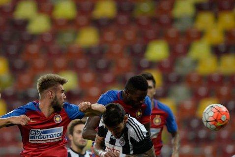 """Golul care le-a dat aripi steliştilor. Varela: """"Mergem la Partizan să ne calificăm. Nu e o echipă de speriat"""". Ce discuţie a avut cu Rădoi"""