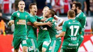 Seară nebună, nebună de tot în preliminariile Ligii Campionilor. Cu o medie de vârstă de 20,9 ani, Ajax a fost eliminată de Rapid Viena! Molde, out după 3-3 cu Dinamo Zagreb. Norvegienii au ratat două penalty-uri!