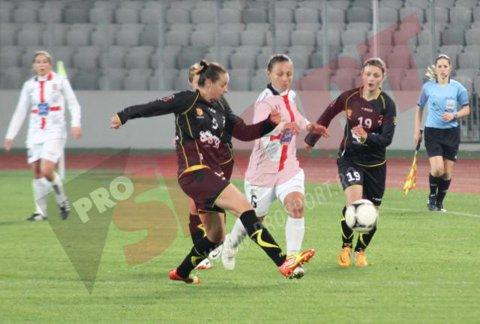 Fetiţe şi campioane. Campioana României n-a avut nicio şansă în faţa celei mai bogate echipe din fotbalul feminin. Olimpia Cluj – PSG 0-6