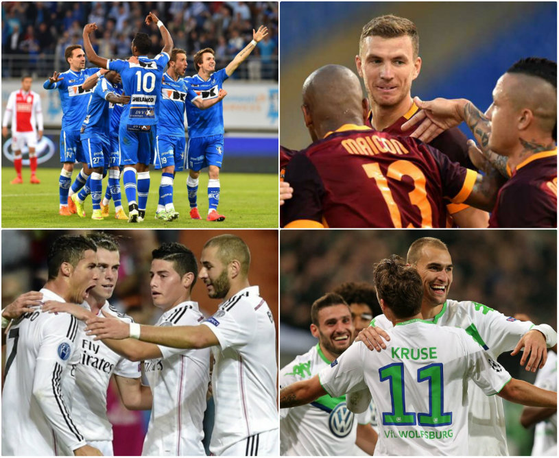 Liga Campionilor | Ronaldo şi Jese îl duc pe Zidane aproape de sferturi: AS Roma - Real Madrid 0-2. Gent - Wolfsburg 2-3. Rezultatele şi programul