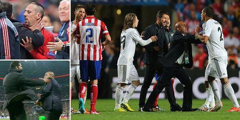 """Diego """"Loco"""" Simeone, războinicul de pe marginea terenului! Când avea 11 ani fost eliminat deşi era doar copil de mingi, cu Bayern şi-a lovit un colaborator şi a fost ca un vulcan gata să erupă!"""