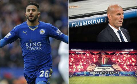 """Ploaie de goluri în Champions League! Ronaldo şi Morata au salvat Realului în minutele 89 şi 90+4.  """"Minunea"""" Leicester a făcut spectacol la debut. Aguero, hat-trick pentru City. Rezultatele serii"""