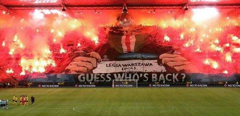 Legia Varşovia, pedepsită de UEFA. Polonezii vor juca fără spectatori meciul cu Real Madrid
