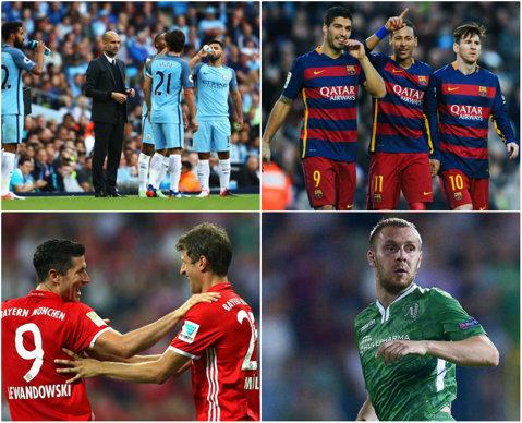 Liga Campionilor | Guardiola a plecat umilit de pe Camp Nou! Barcelona - City 4-0, după un hat-trick de senzaţie al lui Messi. Arsenal - Ludogoreţ 6-0, Napoli - Beşiktaş 2-3. Toate rezultatele şi clasamentele
