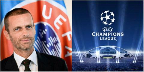 Noul preşedinte al UEFA ia în calcul să mute disputarea finalei Ligii Campionilor în afara Europei