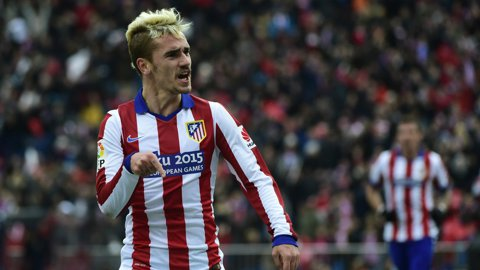 Antoine Griezmann a devenit cel mai bun marcator al echipei Atletico Madrid în Liga Campionilor