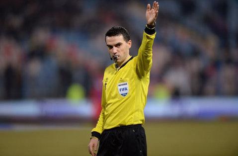 Ovidiu Haţegan va arbitra meciul Juventus Torino - FC Porto, din optimile Ligii Campionilor