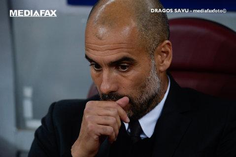"""""""O ruşine!"""" Pep Guardiola a spus lucrurilor pe nume după eliminarea din Champions League"""