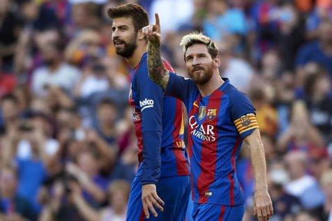 """Gerard Pique a nominalizat favoritul său pentru câştigarea Balonului de Aur. Surpinzător: nu este Messi. """"Dacă te uiţi la trofee, ar merita să îl câştige pentru tot ceea ce a obţinut sezonul acesta"""""""