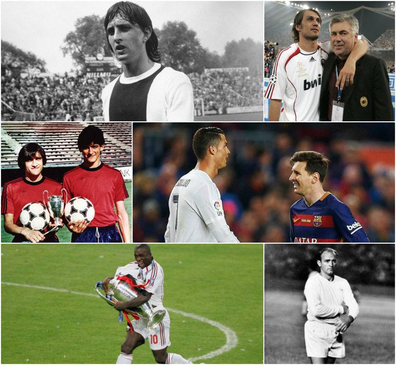 11-le ideal al fotbaliştilor care au triumfat în Liga Campionilor! Belodedici face echipă cu Cruyff, Maldini, Ronaldo sau Messi