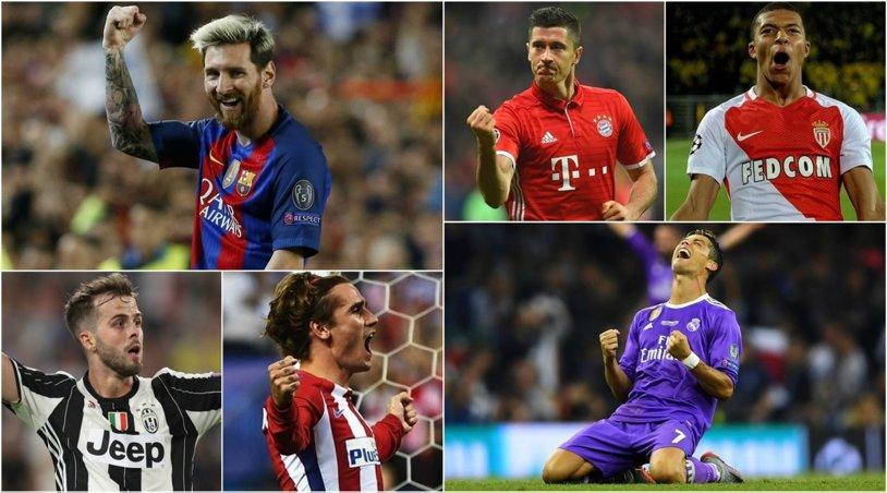 UEFA a stabilit echipa sezonului din Liga Campionilor! Real Madrid domină lotul, Monaco dă mai mulţi jucători decât Barcelona