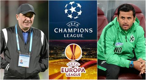 Tot ce trebuie să ştii despre meciurile echipelor româneşti în cupele europene! Viitorul, FCSB, Dinamo, Astra şi Craiova, în turul 3 preliminar. Când se joacă partidele şi unde se văd la TV