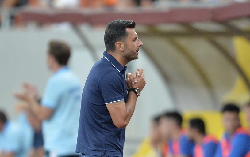 """Gigi Becali i-a trasat lui Dică un obiectiv foarte îndrăzneţ: """"Ştiţi ce trebuie să facem cu Sporting? Altfel, ne luăm adio de la calificare!"""""""