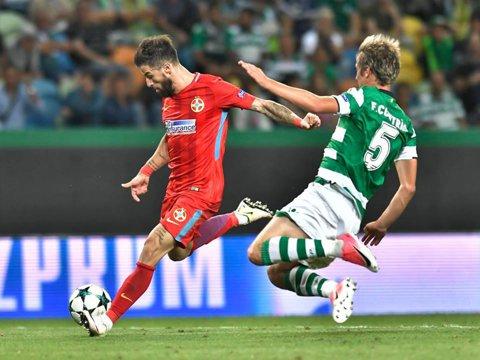 """Nu toată lumea îl contestă pe Enache după ratarea cu Sporting: """"Niciun fundaş dreapta nu ar putea să aibă o asemenea ocazie în ultimele minute!"""""""