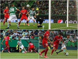 Trei provocări pentru Dică la returul cu Sporting. Achim, Budescu şi Bruno Fernandes, cheia deblocării lui Bas Dost