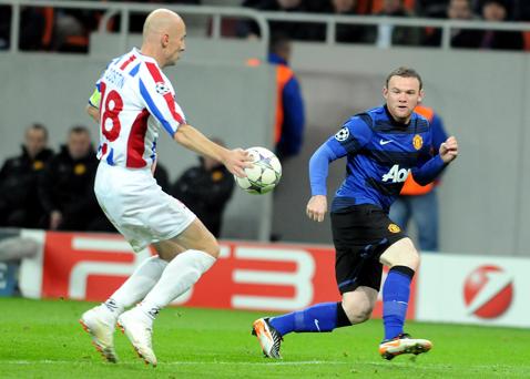 Lipseşte doar Oţelul :) Englezii s-au speriat când au văzut grupa aparent uşoară a lui United. Ce s-a întâmplat în sezonul 2011-2012
