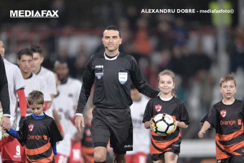 Haţegan revine în lumina reflectoarelor, după episodul Beflast. UEFA l-a delegat la un meci din Liga Campionilor