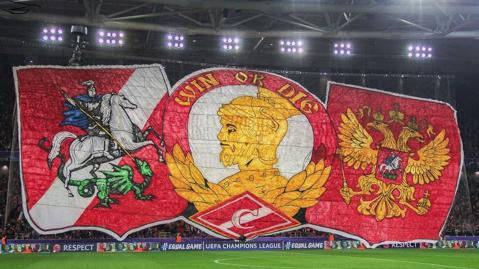 """Suporterii lui Spartak Moscova, rugaţi să se comporte civilizat la Liverpool: """"Vă îndemnăm să vă abţineţi de la orice fel de violenţe"""""""