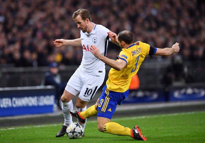 Liga Campionilor | Tottenham - Juventus 1-2 şi Manchester City - Basel 1-2. Italienii se califică după ce au întors scorul pe Wembley! Rezervele lui Guardiola au cedat din nou