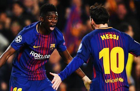 VIDEO   Ousmane Dembele a marcat primul său gol la Barcelona! Messi l-a servit excelent, dar francezul a înscris cu o execuţie sigură