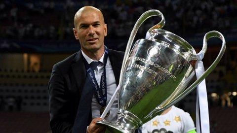 """Ce simte un antrenor care scrie istorie: """"Nu am cuvinte să descriu, e viaţă pură!"""". Zidane şi un răspuns """"agresiv"""" la întrebarea care i-a fost pusă obsesiv după al treilea trofeu al Ligii: """"Ce vreţi să vă spun mai mult?"""""""