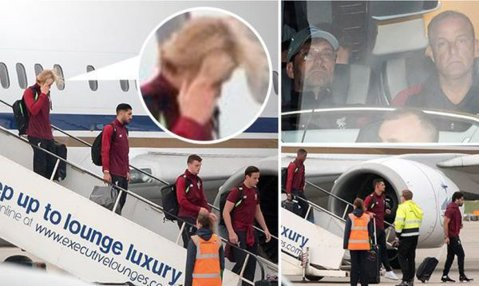 FOTO | Loris Karius e ruşinat de gafele sale! Cum a fost surprins la întoarcerea în Anglia