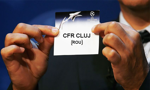 CFR Cluj şi-a aflat adversarul din turul II preliminar al Ligii Campionilor. Campioana a avut noroc la tragerea la sorţi