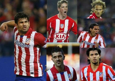 Golgheterii lui Atletico sunt istorie. Atacanţii au marcat de doar trei ori în actualul sezon, de opt ori mai puţin decât vârfurile lui Real Madrid