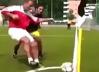 Dribling fantastic. VIDEO - Ibra, Ronaldinho sau Ronaldo nu s-au gândit la aşa ceva: cum a trecut acest domn cu burtă de adversarul direct