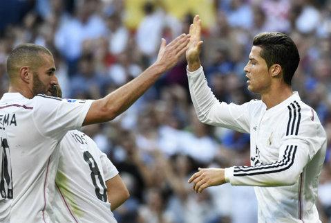 """""""Bombardierul"""" Ronaldo. Portughezul a marcat şi cu Barca şi i-a stricat recordul lui Bravo. Catalanii, primul gol primit în campionat, în acest sezon"""