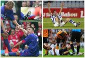 FOTO | Cele mai grave 10 accidentări din fotbal. Nicuşor Bancu se alătură unei liste pe care apar nume grele