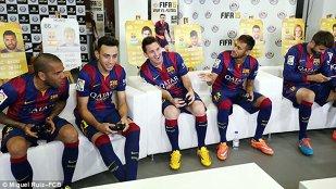 Barcelona Versus Barcelona. FOTO | Messi şi Neymar au arătat că se înţeleg perfect şi în afara terenului