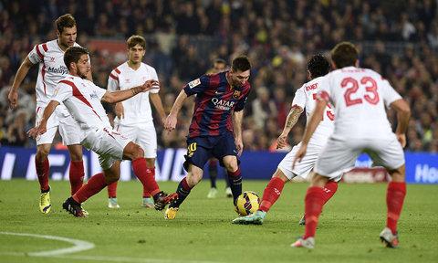 În sfârşit! Messi a marcat contra Sevilliei şi a depăşit recordul lui Telmo Zarra