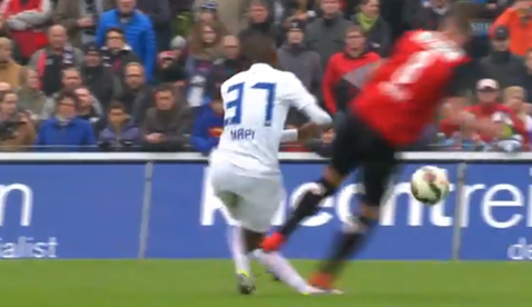 VIDEO | Wieser, omul care a făcut cel mai dur fault al anului, şi-a aflat pedeapsa: suspendare de 6 meciuri