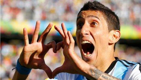 Leo Messi, detronat în Argentina în cursa pentru fotbalistul anului. Angel Di Maria a primit cele mai multe voturi