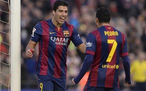 "Barcelona a mai reuşit  o ""manita"". Suarez a spart gheaţa în Primera Division, Messi a înscris o dublă"