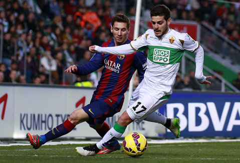De două ori Messi, de două ori Neymar. Barcelona a făcut spectacol pe terenul lui Elche: catalanii s-au impus cu 6-0