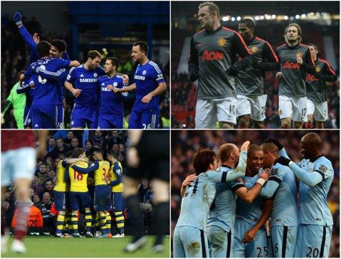 Premier League LIVE SCORE | Mare derby în Anglia: Chelsea - Manchester City 0-0. Pantilimon a fost integralist în Sunderland - Burnley 2-0. Rezultatele zilei