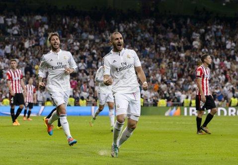 """L-au făcut uitat pe Cristiano Ronaldo. Rodriguez, Ramos şi Benzema au rezolvat meciul pentru """"galactici"""". Real Madrid - Real Sociedad 4-1"""