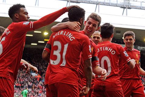 Liverpool a obţinut profit pentru prima oară în ultimele şapte sezoane